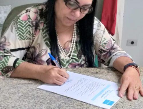 DRª CÁTIA ASSINA TERMO DE ADESÃO E JATAÚBA CONCORRE AO SELO UNICEF PELA PRIMEIRA VEZ