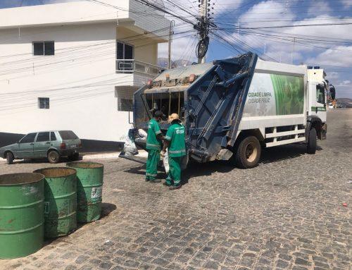 Prefeitura de Jataúba erradica lixão no município e realiza mutirão de limpeza de ruas e canais.